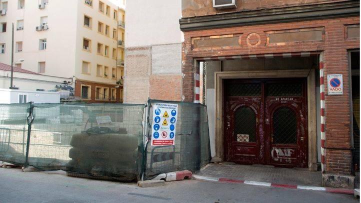 Derribado el edificio de La Morada