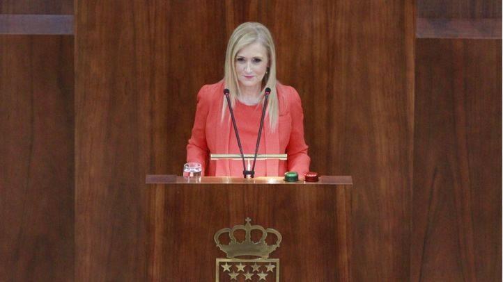 Cifuentes espera una disculpa del PSOE por el 'meme'
