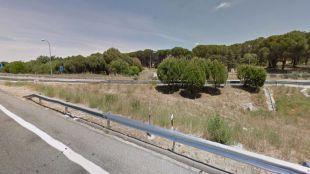 Carretera M-501 en Villaviciosa