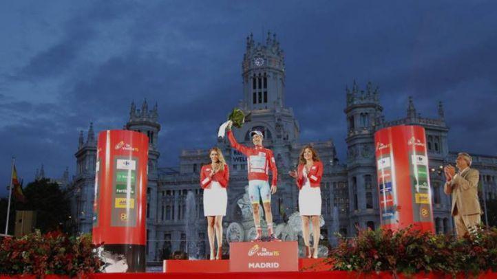 Podio de la última edición en Madrid