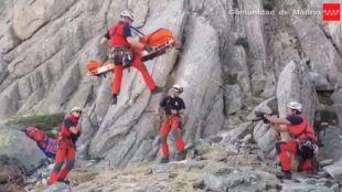 El GERA rescata a una mujer en La Pedriza