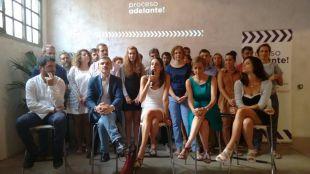 La candidatura de Maestre y Sánchez abre la campaña con un debate en El Retiro