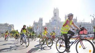 La Celeste: una semana de cortes de tráfico, bicis y huertos en parkings para recuperar el cielo