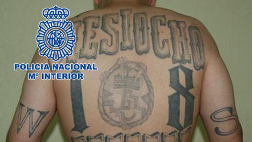 Detenido en Leganés un presunto líder de la Mara 18 acusado de querer activarla en España