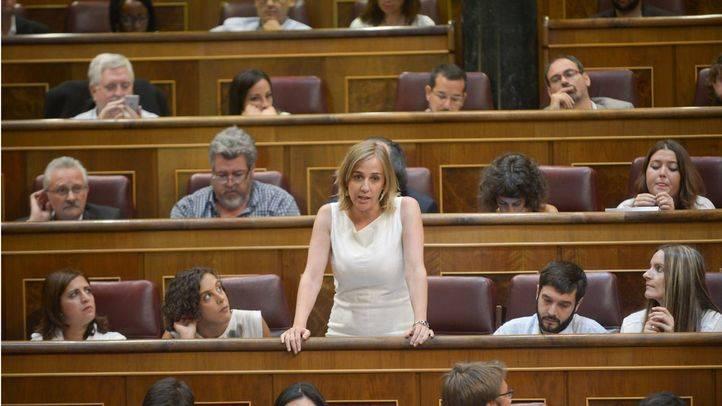 Tania Sánchez no cree que se haya quedado sin portavocía por apoyar Proceso Adelante