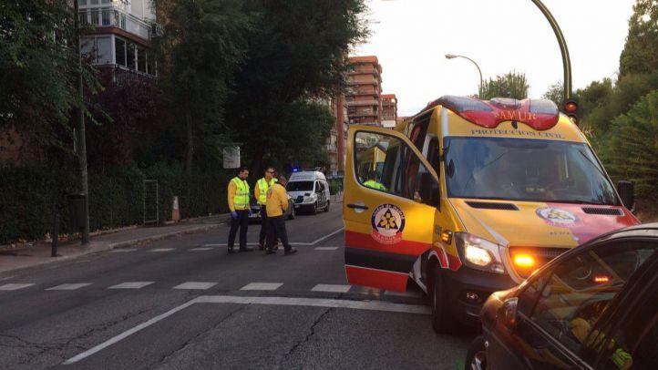 Muere un hombre de 83 años tras ser atropellado por una furgoneta en el barrio del Pilar