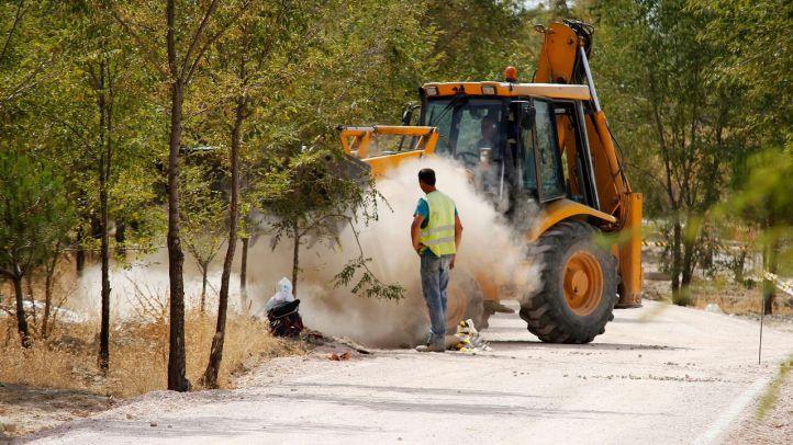 El Ayuntamiento acondiciona 40 hectáreas del Parque Lineal del Manzanares