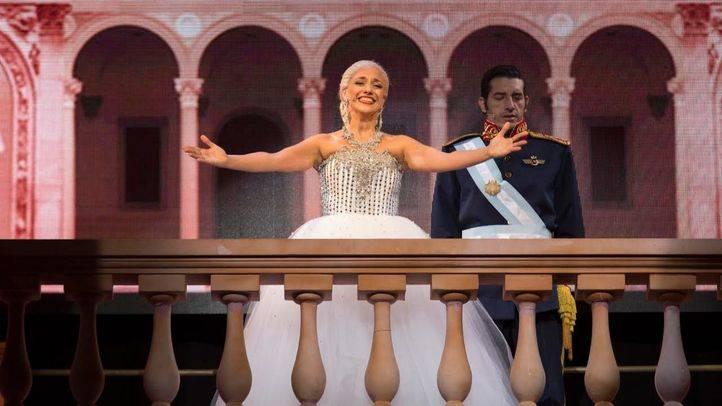 'Evita'; en el Teatro Nuevo Alcalá