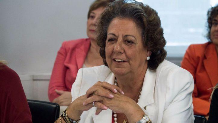 Barberá pide su baja en el PP pero se aferra a su escaño en el Senado