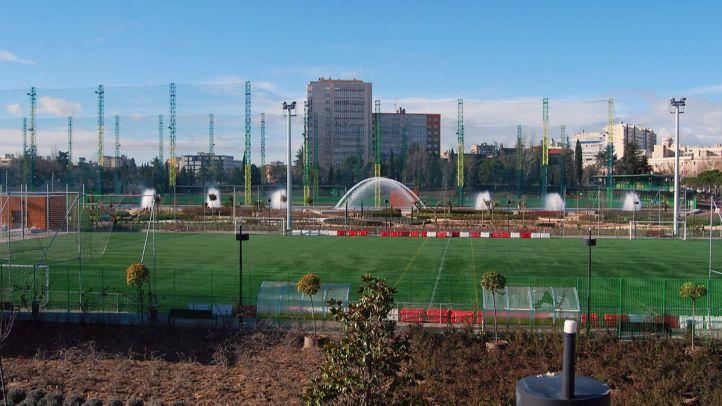 Instalaciones deportivas del Canal en Chamberí