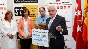 Sánchez Martos defiende cuadruplicar los donantes de médula