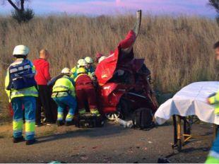 Rescatan a dos mujeres en una triple colisión en la M-50