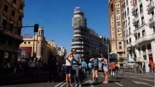 Sabanés insinúa que una Gran Vía más peatonal es