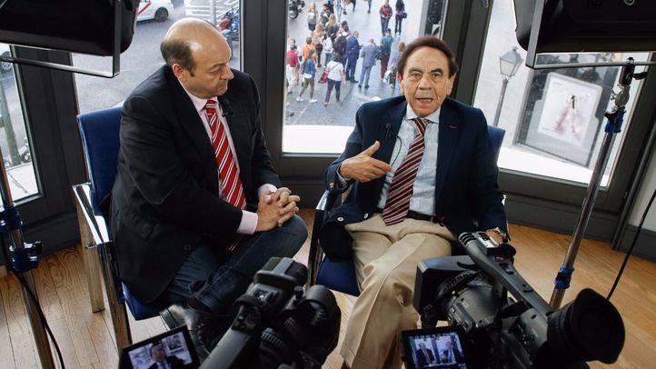 Constantino Mediavilla y Jesús Núñez en 'La terraza de Gran Vía'