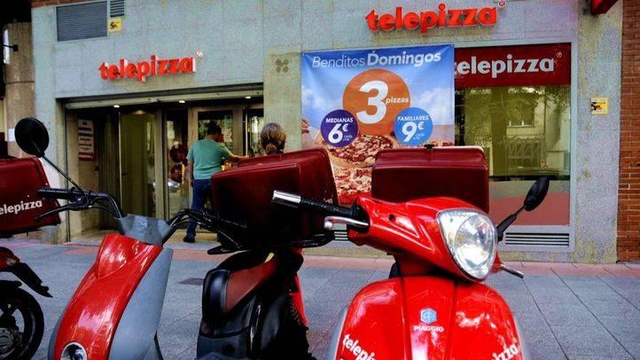 Telepizza se estrena de nuevo en la bolsa de Madrid con una caída importante