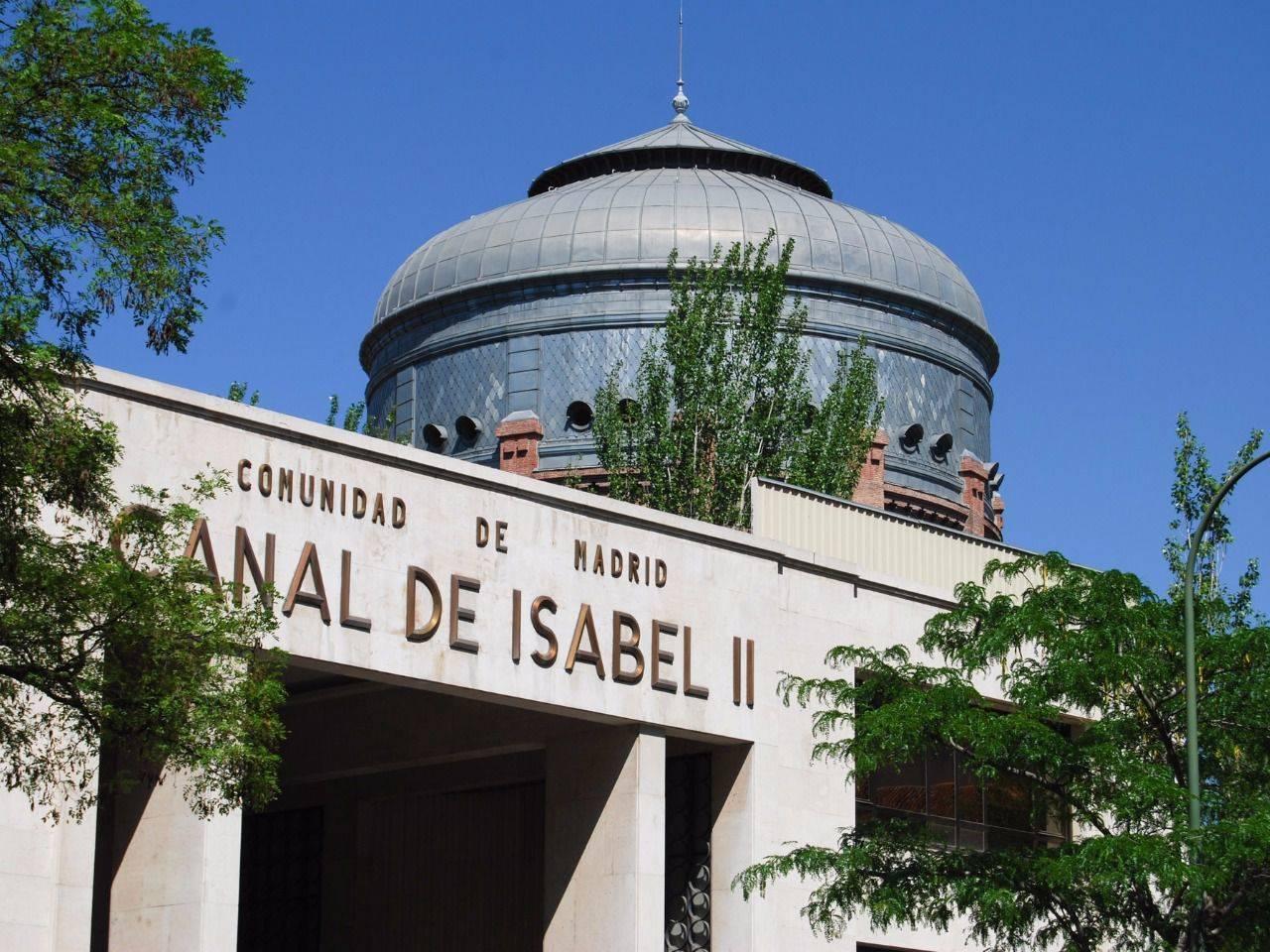Las instalaciones del canal de isabel ii en chamber for Oficinas canal isabel ii madrid
