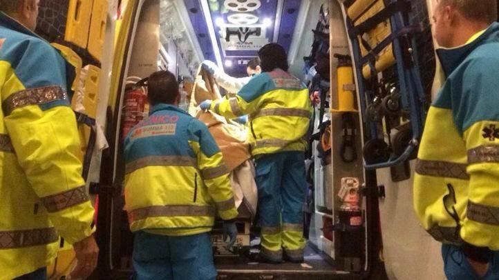 Un muerto tras el choque de un turismo y una ambulancia en San Martín de Valdeiglesias