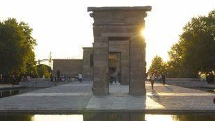 El Templo de Debod reabre parcialmente al público