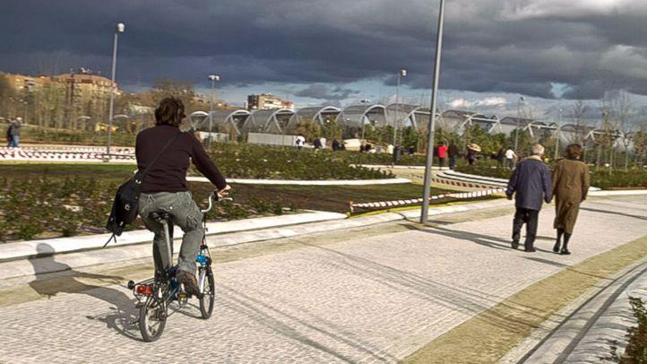 El Ayuntamiento anuncia un carril bici entre Legazpi y Príncipe Pío