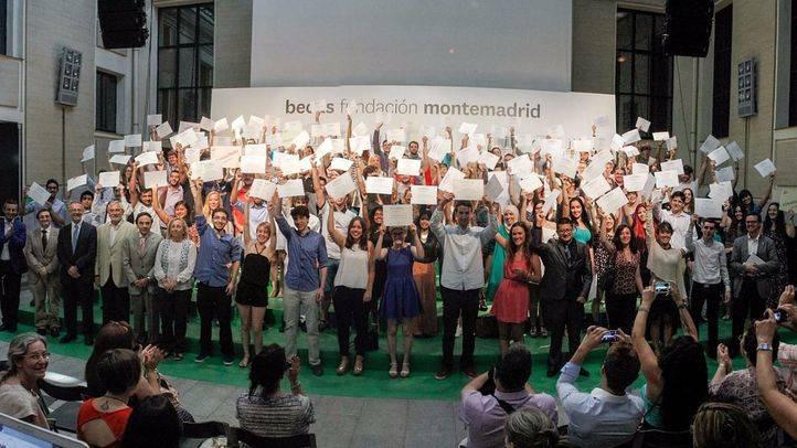 Acto de entrega de las Eurobecas de la Fundación Montemadrid en la Casa Encendida