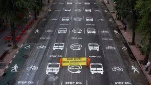 Así sería la calle ideal de Greenpeace