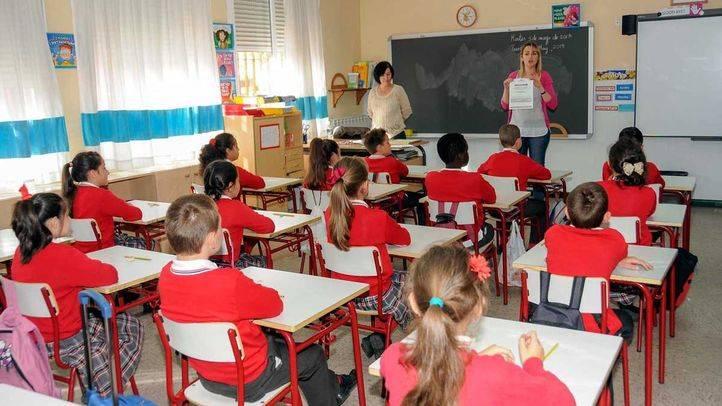 Los alumnos madrile�os sacan un notable en las pruebas de Primaria de la LOMCE
