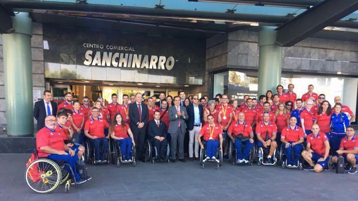 El Corte Inglés recibe al Equipo Paralímpico Español tras los éxitos cosechados