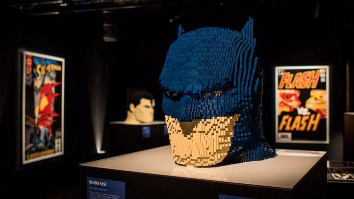 Exposición 'The Art of the Brick- DC Super Heroes'