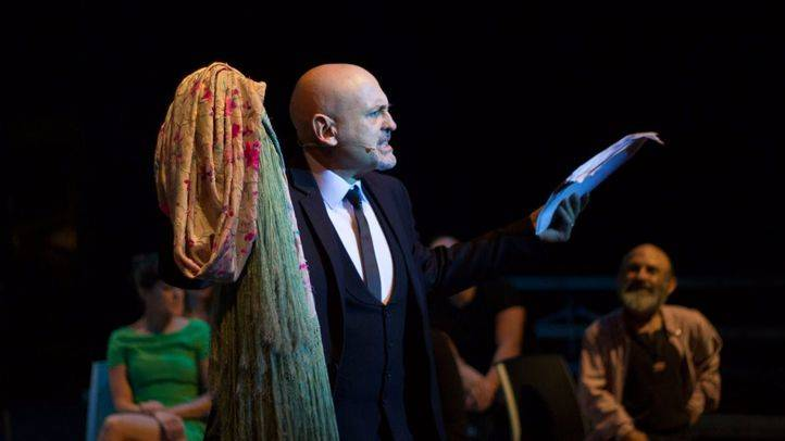 El director artístico del Teatro español, en la presentación de su última temporada como tal