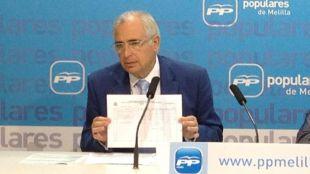 El presidente de Melilla se mete en la polémica de Millán Astray y le defiende frente a Carmena