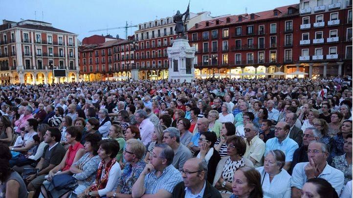 Miles de espectadores contemplan en Valladolid la retransmisión del 'Otello' del Teatro Real desde Madrid