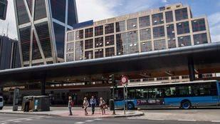 El intercambiador de Plaza de Castilla estrena un nuevo estacionamiento para bicicletas