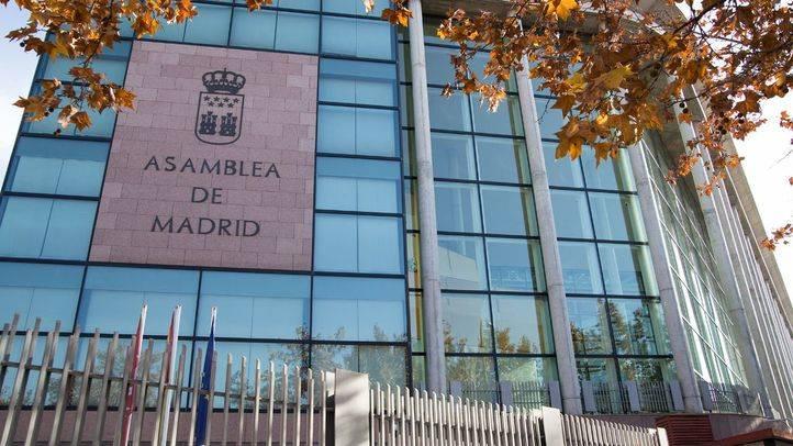 Edificio de la Asamblea de Madrid.