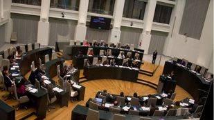 Pleno del Ayuntamiento de Madrid (archivo)