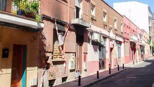 Casa okupa en la calle Juanita número 10. (Archivo)