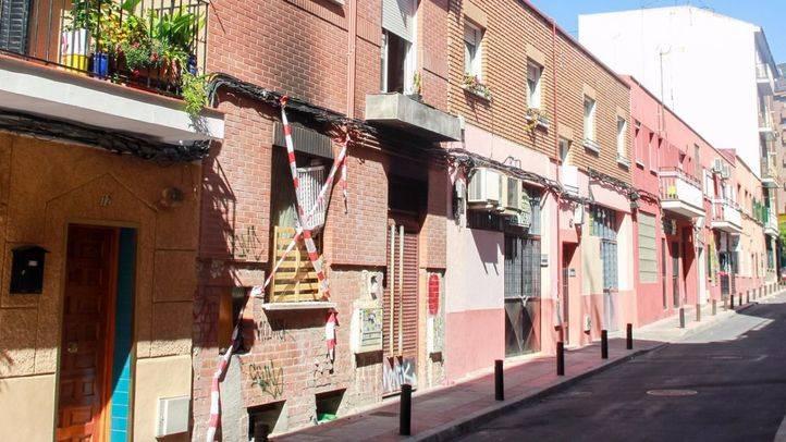 Casa okupa en la calle Juanita n�mero 10. (Archivo)