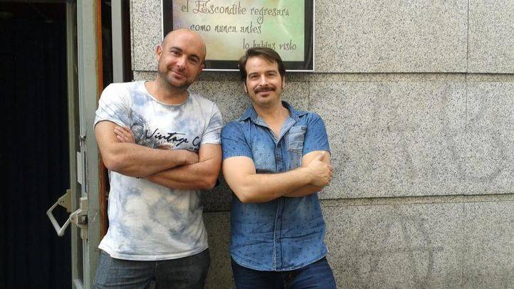 Diego Sanchidri�n y Fael Garc�a, socios de El Esconditeatro