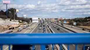Cortes en la A-5 y en la M-40 a partir del lunes por la reparación del puente que une ambas vías