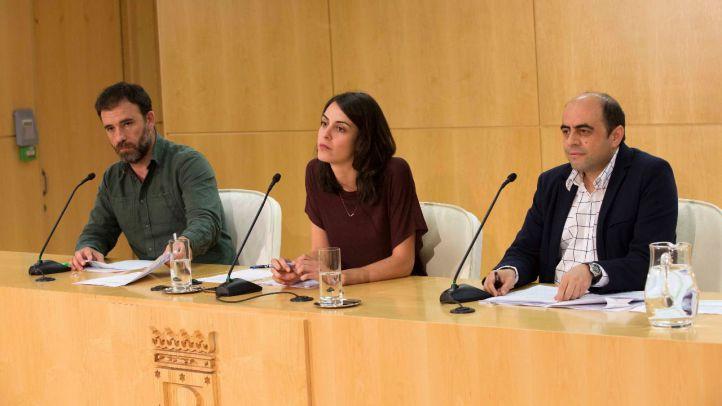 Nacho Murgui y Rita Maestre comparecen en el Consistorio