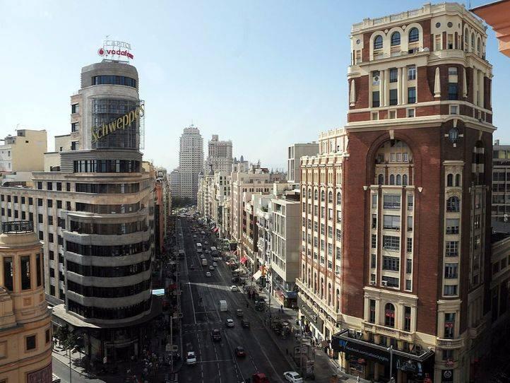 La Gran Vía es la segunda calle más transitada de España en 2015