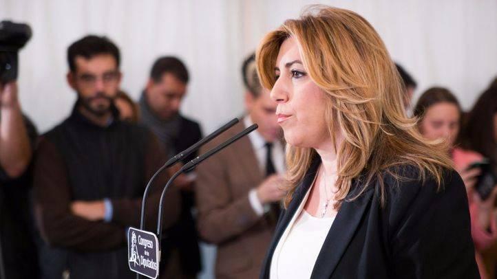 Susana D�az, presidenta de la Junta de Andaluc�a por el PSOE.