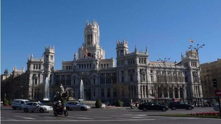 Fachada del Palacio de Cibeles.