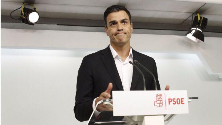Sánchez sugiere que dimitirá si el comité decide pasar a la abstención