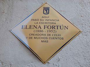 Aquí vivió Elena Fortún... Y Celia