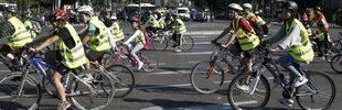 La capital celebra la Fiesta de la Bici con más horas sin coches