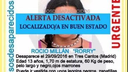Localizadas las dos menores desaparecidas desde el jueves