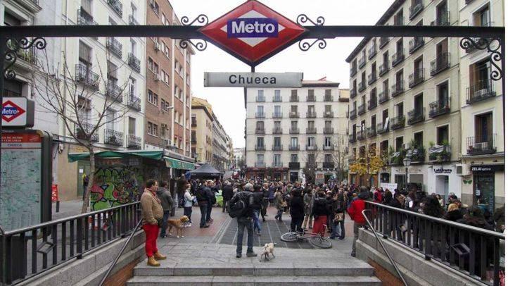 Metro hará obras en Chueca para cambiar las escaleras mecánicas