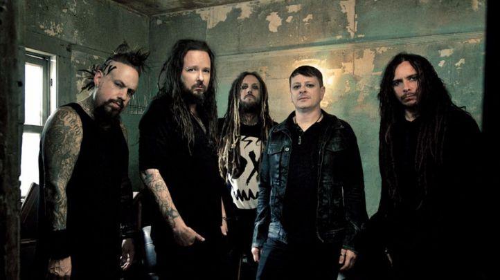 Grupo musical Korn.