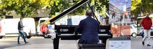 Entre pianos y partituras en la milla de oro de Madrid