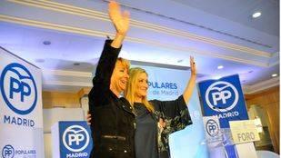 Aguirre insiste en la regeneración del PP y Cifuentes contesta que debe ser